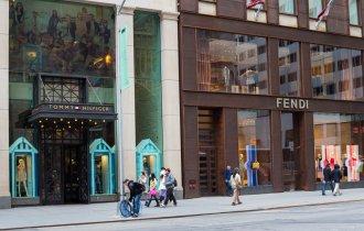 Tiendas de Nueva York
