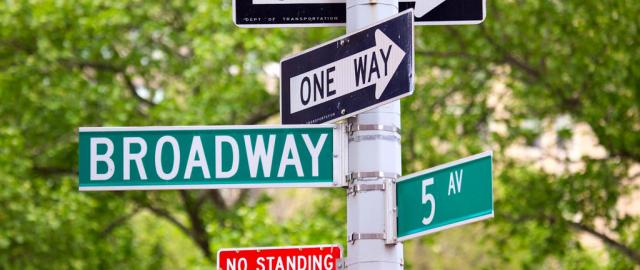 Broadway con 5 avenida
