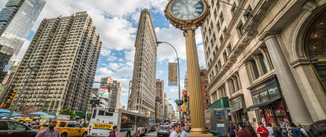 5th ave con el Flatiron