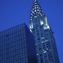 Chrysler Building de noche