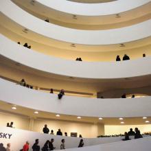 Interior del Guggenheim