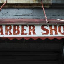 Barbería en Harlem