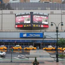 Entrada a Madison Square Garden