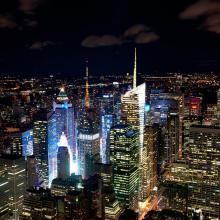 Manhattan de noche